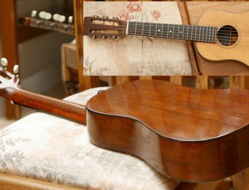 The World's Smallest Pre-War Martin 6-String Guitar