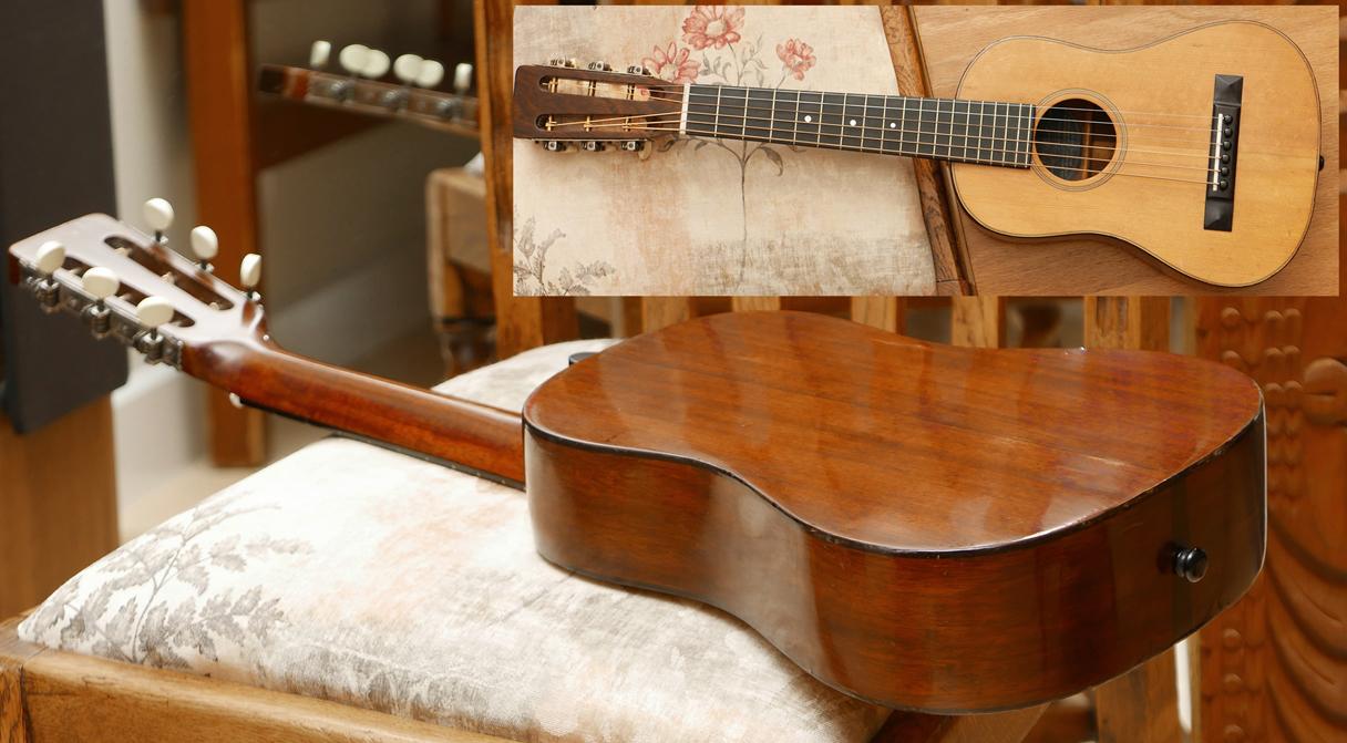 the world 39 s smallest pre war martin 6 string guitar vintage american guitar. Black Bedroom Furniture Sets. Home Design Ideas