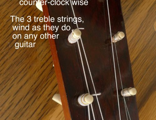 Setting Up and Tuning a 19th-century Martin Guitar with Tuning Pegs