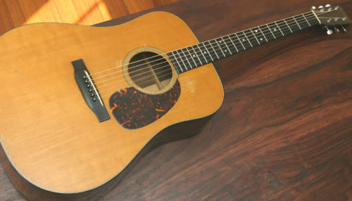 Vintage Martin, Gibson, Fender, and other fine Instruments