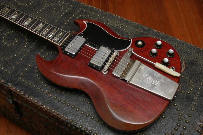 1964 Gibson Sg Standard Vintage American Guitar