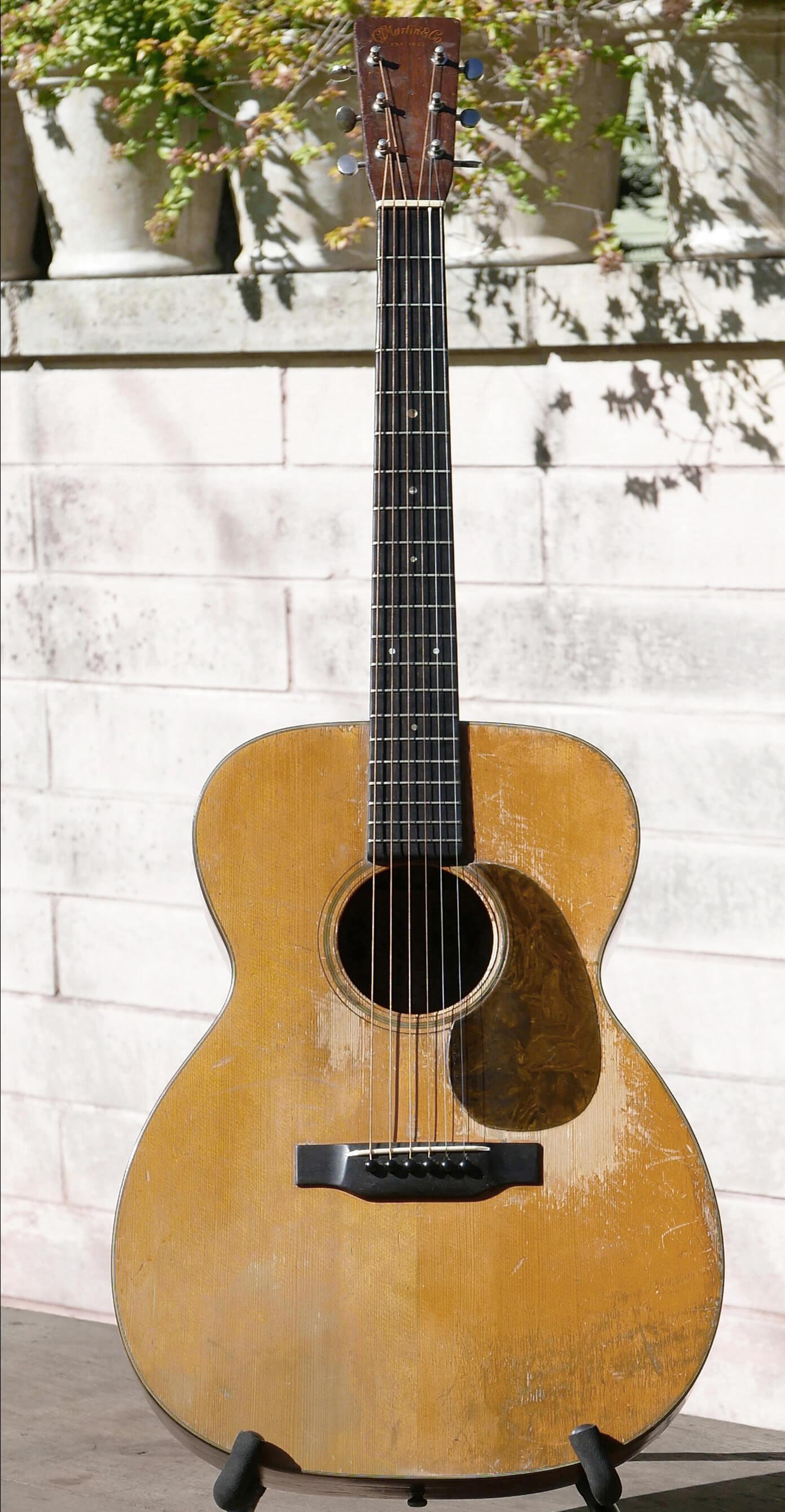 1937 Martin 000-18 Guitar. ; 